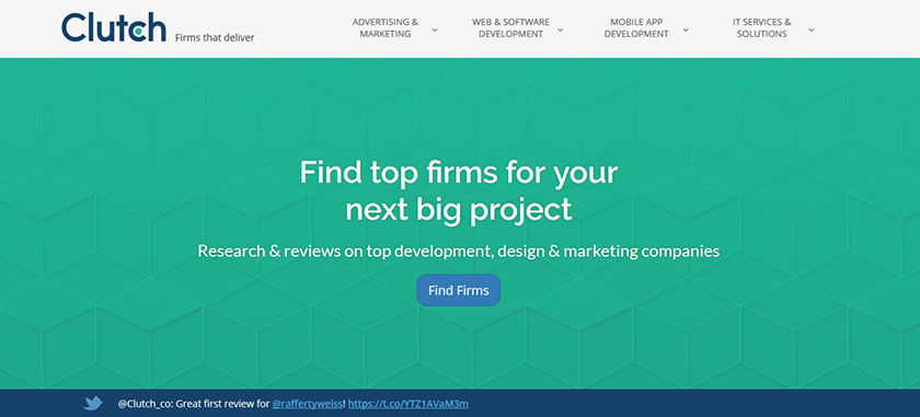 find firm for your next big project