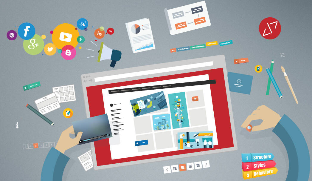 web design and development process explained