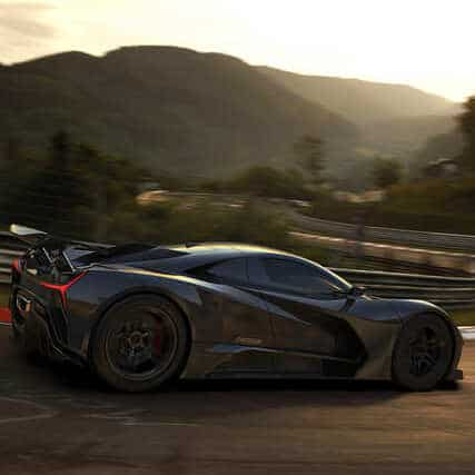 Web-Development-Services-For-Electric-Hypercar-Banner